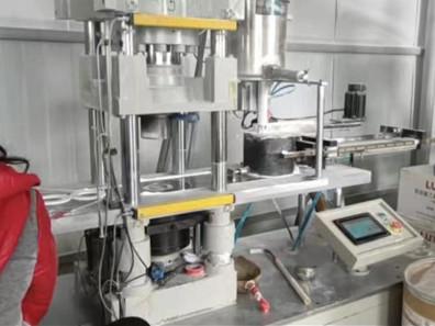 四氟垫片厂家模压机设备